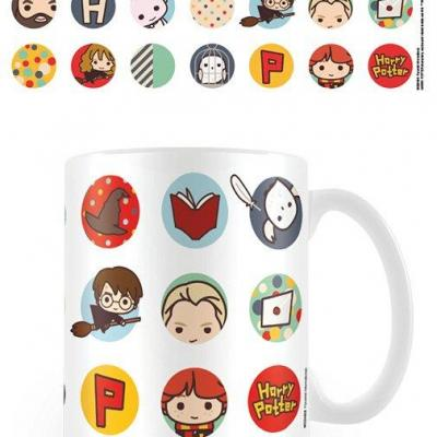 Harry potter mug 300 ml kawaii circles