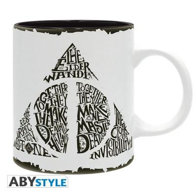 Harry potter mug 320 ml reliques de la mort