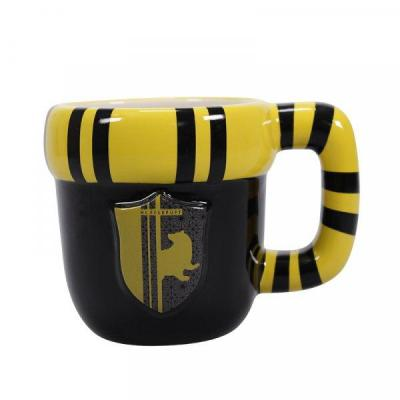Harry potter mug 3d 400ml hufflepuff