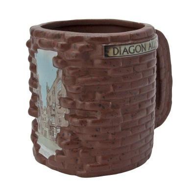 Harry potter mug 500ml 3d chemin de traverse