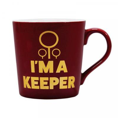 Harry potter mug boxed quidditch keeper