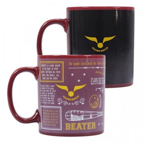 Harry potter mug boxed team quidditch 3