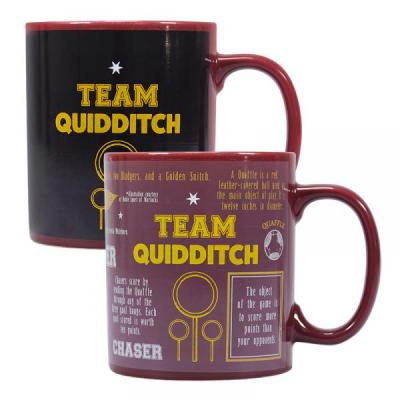 Harry potter mug boxed team quidditch