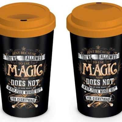 Harry potter mug de voyage 340 ml magic