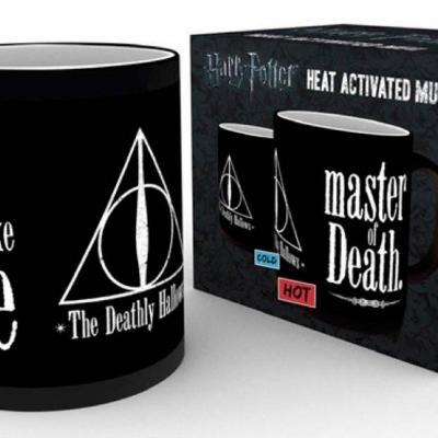 Harry potter mug thermoreactif 300 ml deathly hallows