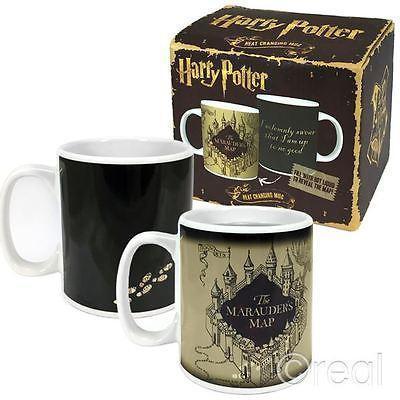 Harry potter mug thermoreactif 400 ml marauder s map