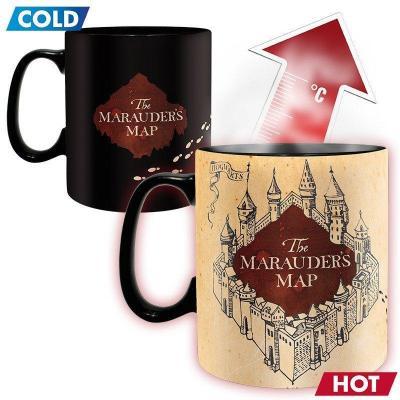 Harry potter mug thermoreactif 460 ml marauder