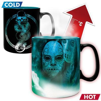 Harry potter mug thermoreactif 460 ml voldemort