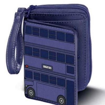 Harry potter night bus portefeuille 15 5x10x2 5cm