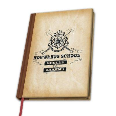 Harry potter notebook a5 hogwarts school