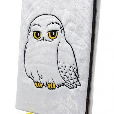 Harry potter notebook a5 premium hedwig fluffy