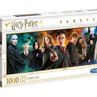 Harry potter panorama characters puzzle 1000p
