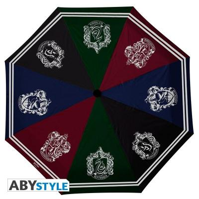 Harry potter parapluie maisons