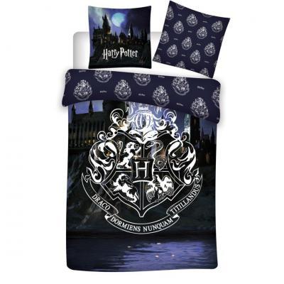 Harry potter parure de lit 140x200cm 100 coton flanelle