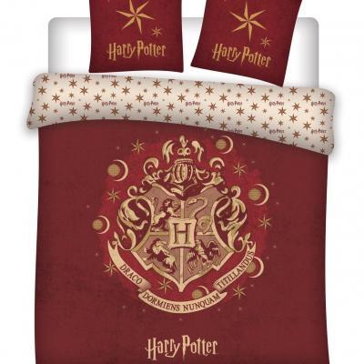 Harry potter parure de lit 240x220cm hogwarts r 100 microfibre