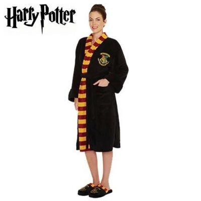 Harry potter peignoir femme hogwarts adulte taille unique