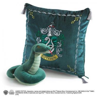 Harry potter peluche coussin 34x34 serpentard