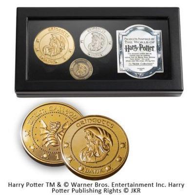 Harry potter pieces des gobelins de gringotts