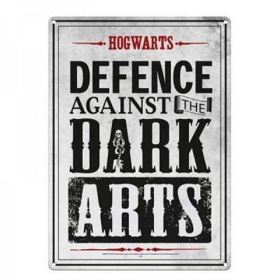 Harry potter plaque metal 21 x 15 dark arts