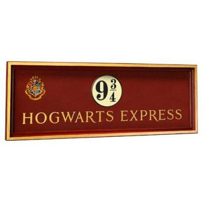 Harry potter plaque poudlard express quai 9 3 4