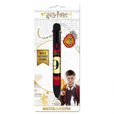 Harry potter platform 9 3 4 stylo bille 6 couleurs 1