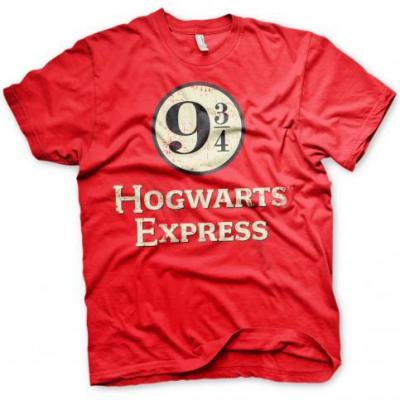 Harry potter platform 9 3 4 t shirt red