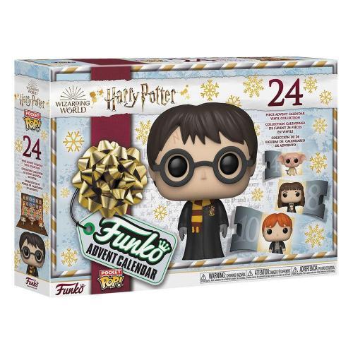 Harry potter pocket pop calendrier de l avent 2021 24 figurines
