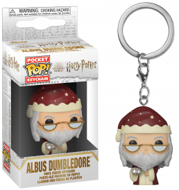 Harry potter pocket pop keychain holiday albus dumbledore