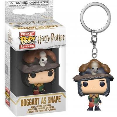 Harry potter pocket pop keychains snape as boggart 4cm