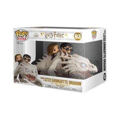 Harry potter pop rides n 93 harry ron hermione w dragon 1