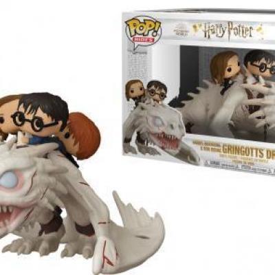 Harry potter pop rides n 93 harry ron hermione w dragon