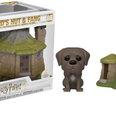Harry potter pop town n 08 hagrid s hut with fang