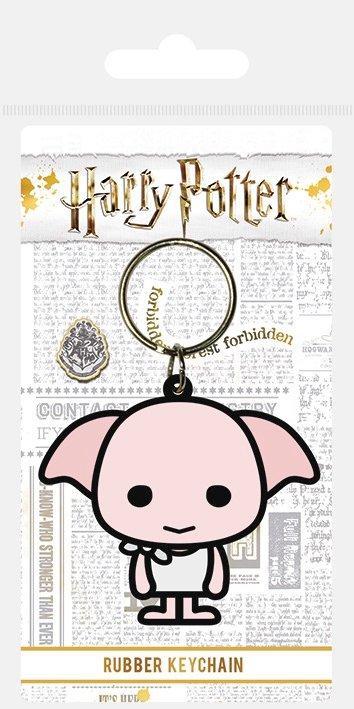 Harry potter porte cles caoutchouc dobby chibi