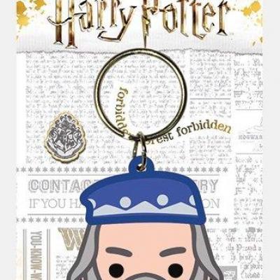 Harry potter porte cles caoutchouc dumbledore chibi