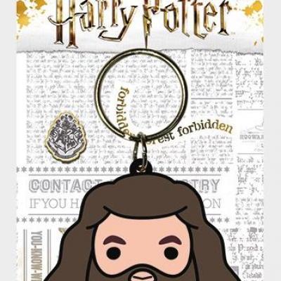 Harry potter porte cles caoutchouc hagrid chibi