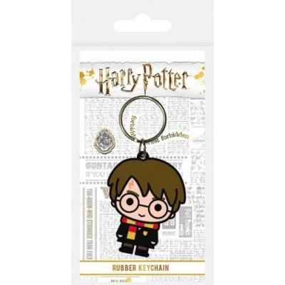 Harry potter porte cles caoutchouc harry chibi