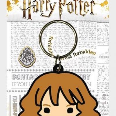 Harry potter porte cles caoutchouc hermione chibi