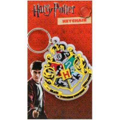 Harry potter porte cles caoutchouc hogwart s crest 1