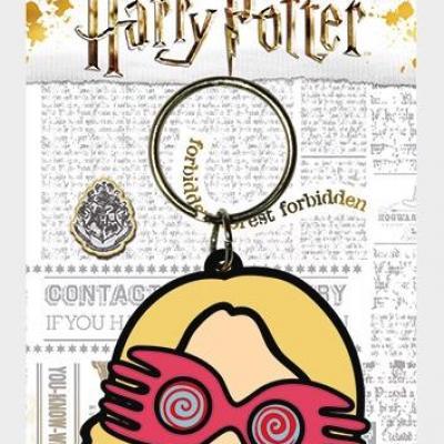 Harry potter porte cles caoutchouc luna chibi