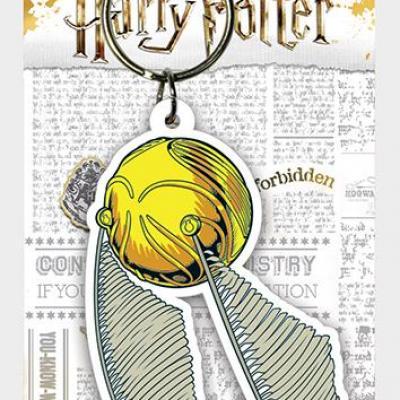 Harry potter porte cles caoutchouc snitch
