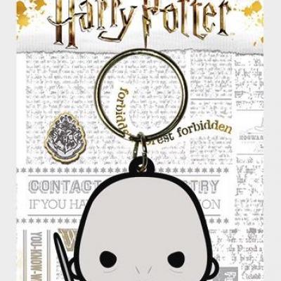 Harry potter porte cles caoutchouc voldemort chibi