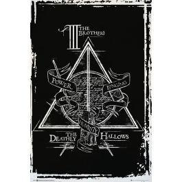 Harry potter poster 61x91 deathly hallows graphic