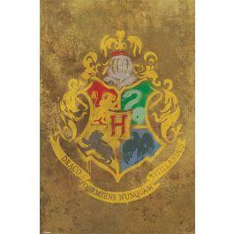 Harry potter poster 61x91 hogwarts crest