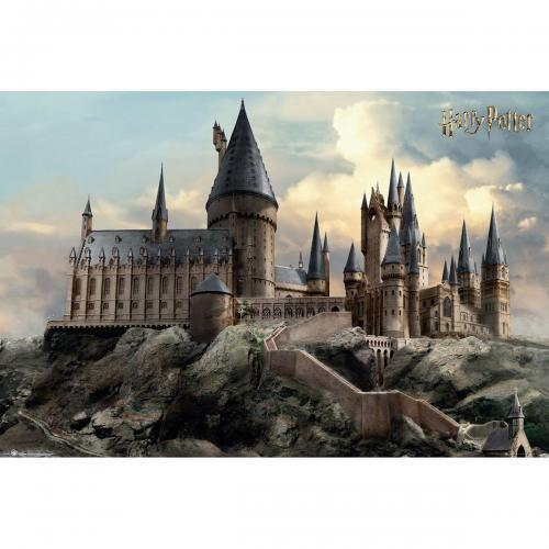 Harry potter poster 61x91 hogwarts day