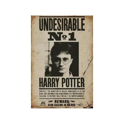 Harry potter poster 61x91 undesirable n 1