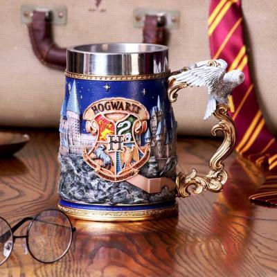 Harry potter poudlard chope en resine 15 5cm