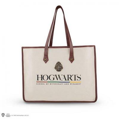 Harry potter poudlard shopping bag cabas en coton