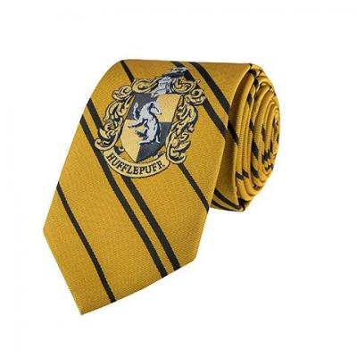Harry potter poufsouffle cravate