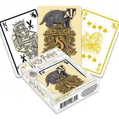 Harry potter poufsouffle jeu de cartes