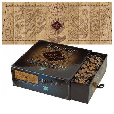 Harry potter puzzle 1000 pcs carte du maraudeur